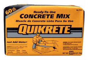 Environmental Well Supplies Concrete